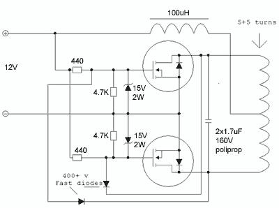 Схемы индукционных нагревателей своими руками