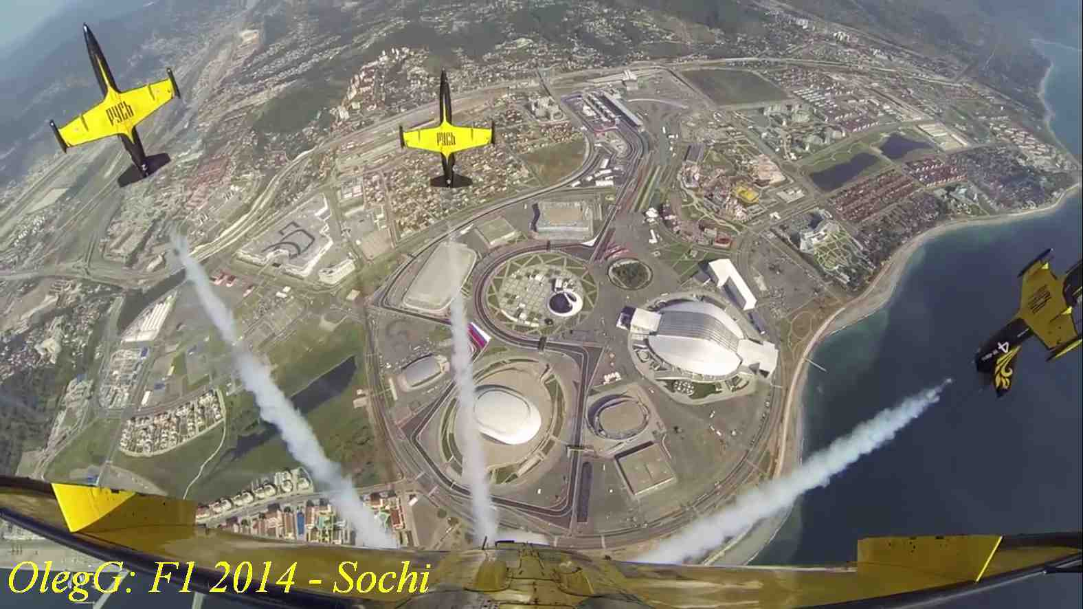 GP Sochi track from air