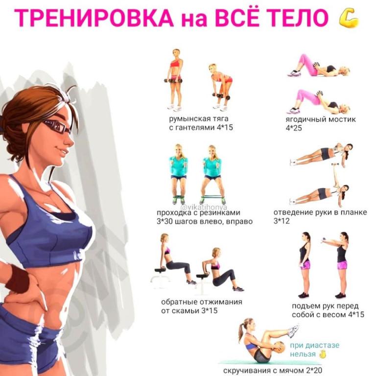 Похудеть а 2 недели упражнения
