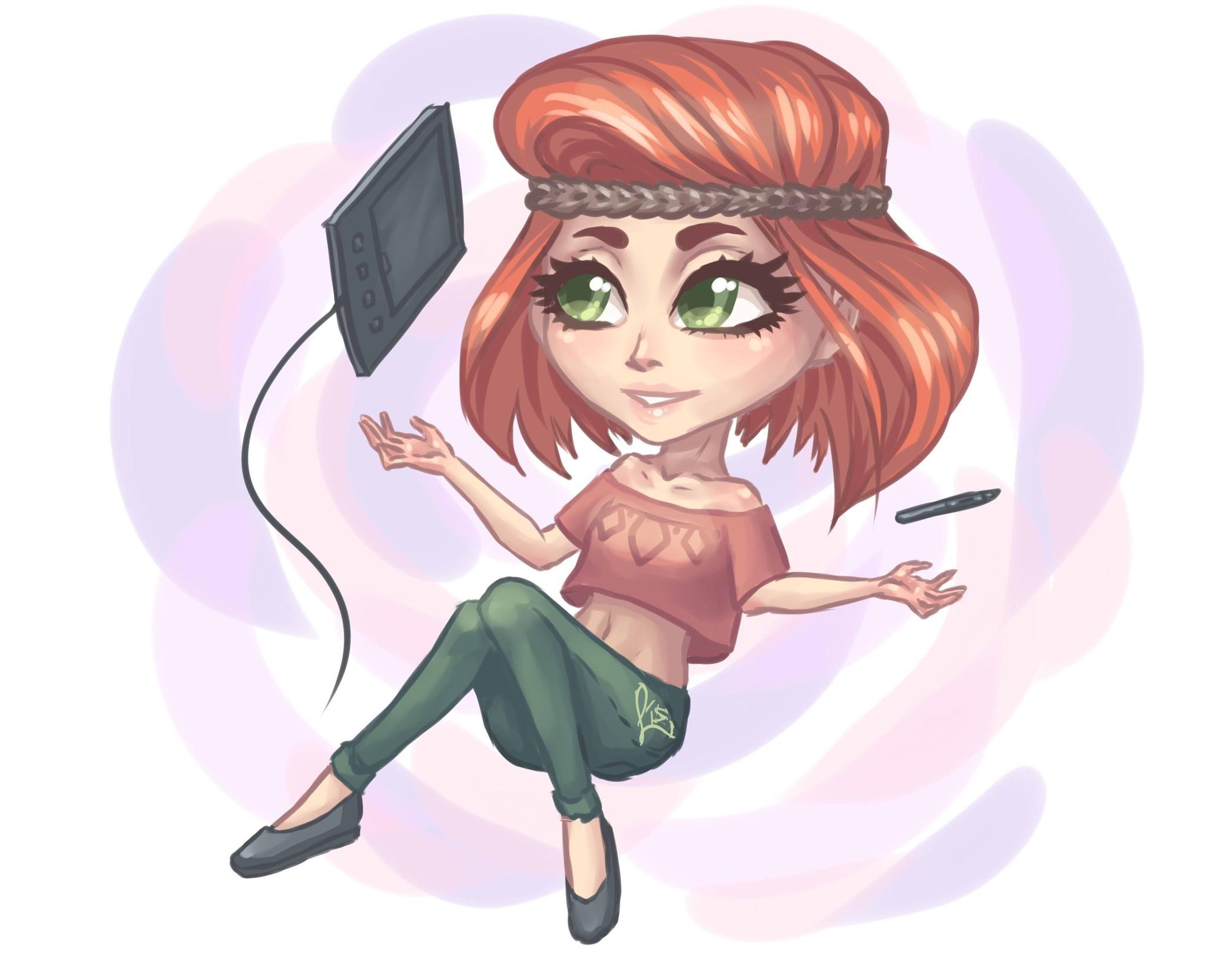 Картинки нарисованных девочек в аватарии