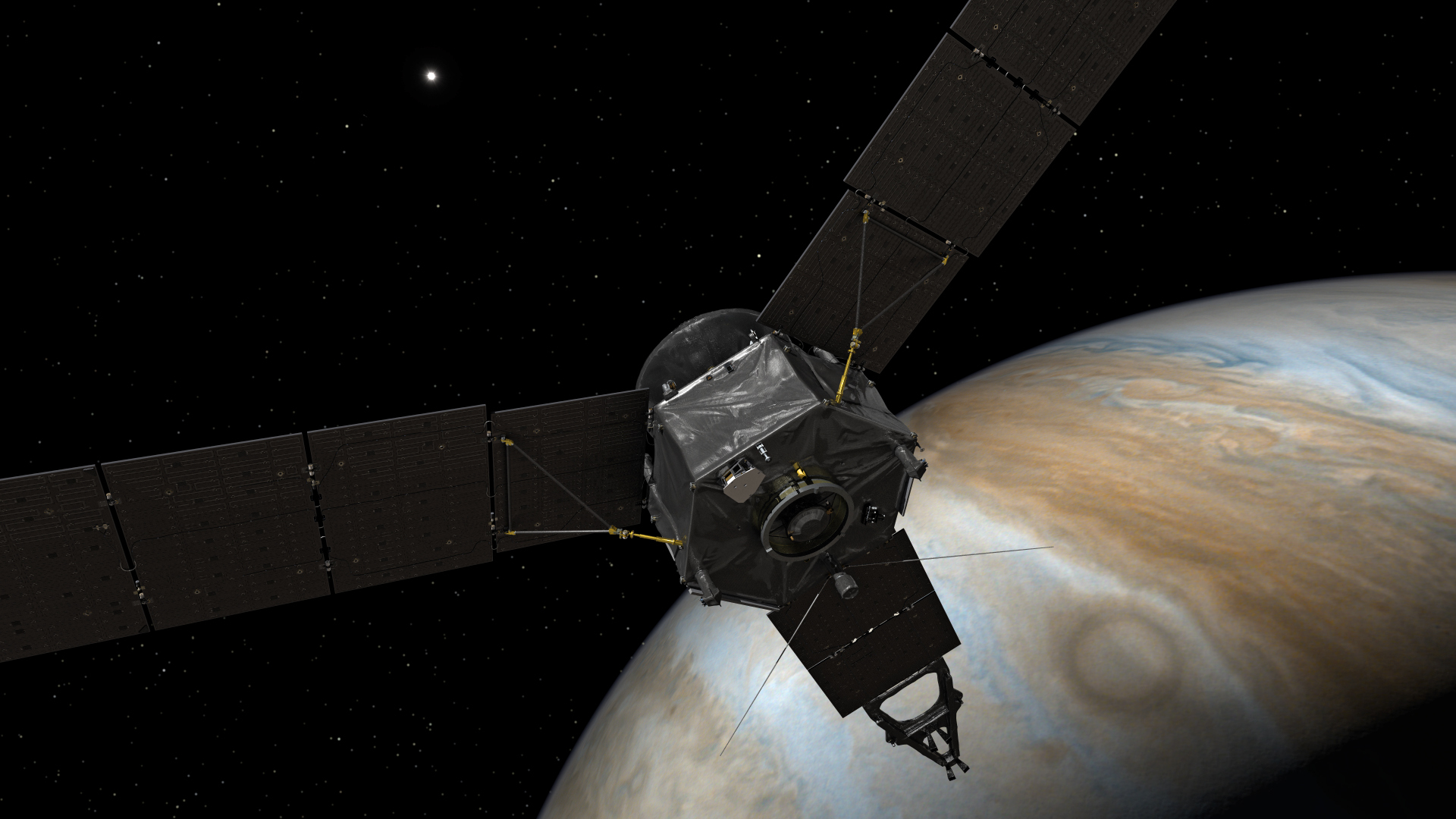 planet nasas juno spacecraft - HD 1920×1080