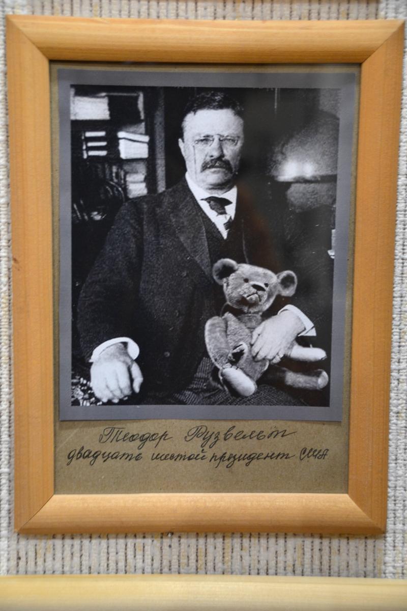 10. А это Теодор Рузвельт, в честь него назвали мишек Теддиками.